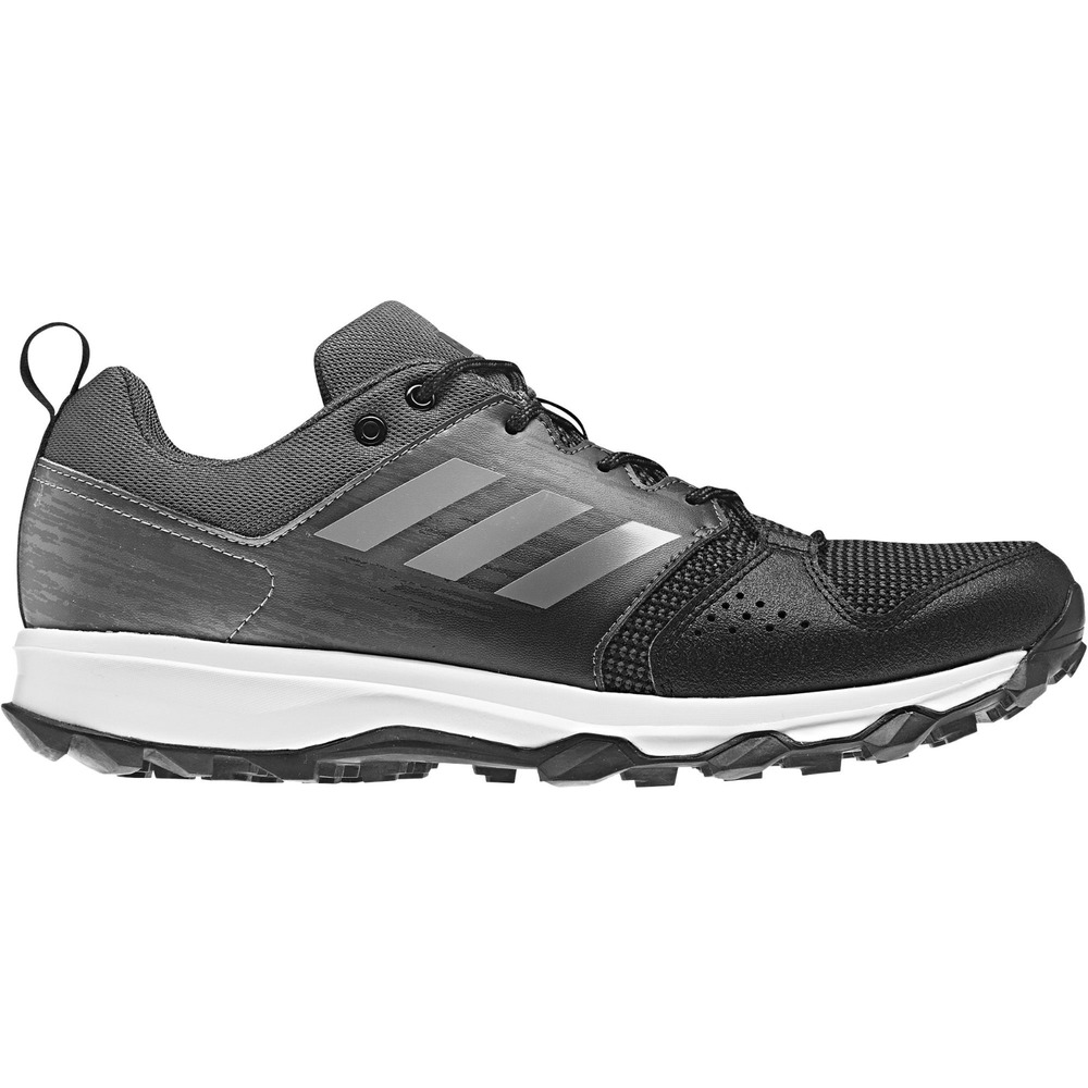 670eafe5d72 Details about Men s adidas Galaxy Trail Running Shoe Silver   Carbon 7.5   NMU5J-M573