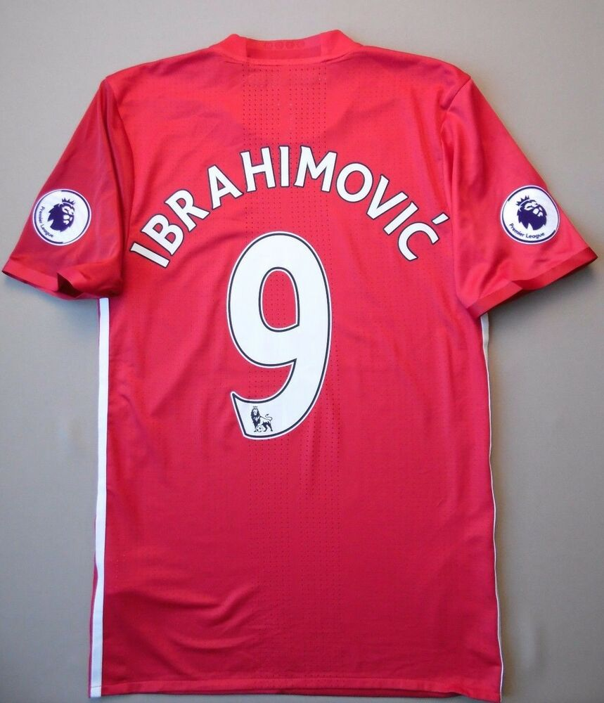 d11f1900f Details about 5+ 5 MANCHESTER UNITED  9 IBRAHIMOVIC PLAYER ISSUE ADIZERO  ADIDAS SHIRT JERSEY