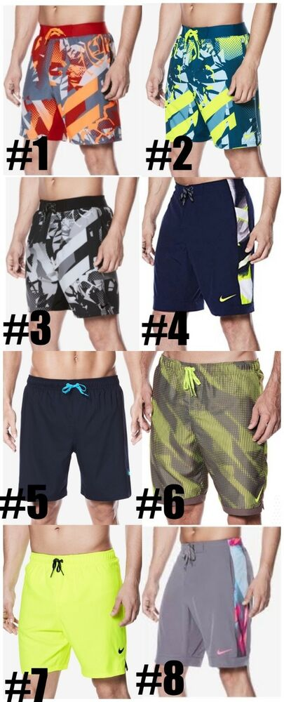 631a7b8c9c Details about New Nike Mens Swim Trunks Board Shorts Choose Color and Size  MSRP $62, $58, $52