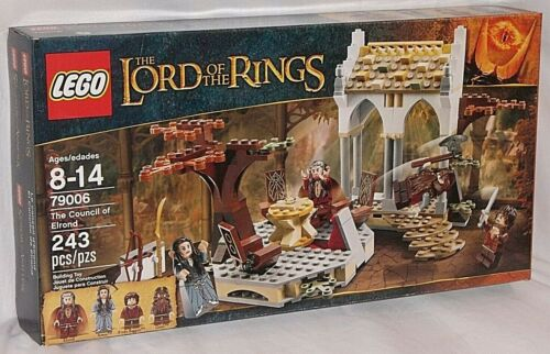 SEALED 79006 LEGO Lord Rings COUNCIL ELROND Gimil Frodo Baggins Arwen 243 pc set