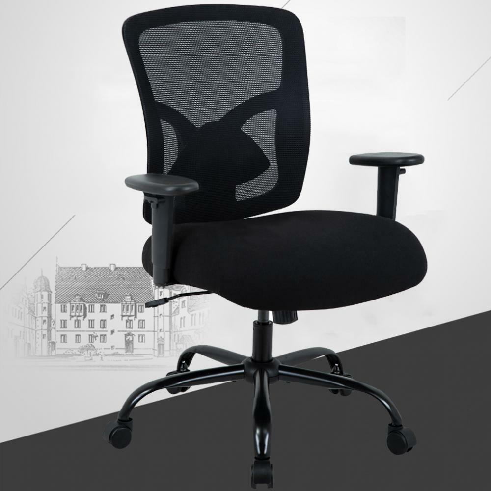 Big And Tall 400lb Office Chair Ergonomic Executive Desk ...
