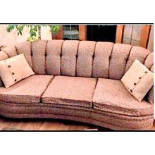 Vintage Couch Tufted Design