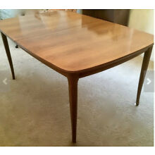 1965 Dining Table and Chairs Thomasville Vintage Mid Century Modern