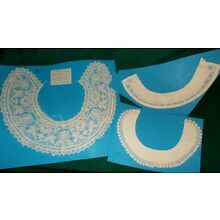 3 vintage lace collars