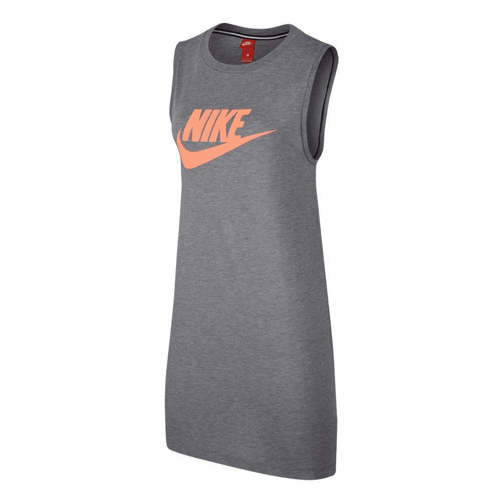0034b985f55b0d Details about Nike Sportswear Women s Sleeveless Dress S Gray Casual Gym New