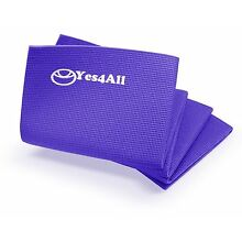 NEW Yes4All Premium PVC Exercise Exclusive Yoga Mat Purple Gym Pad Exercise