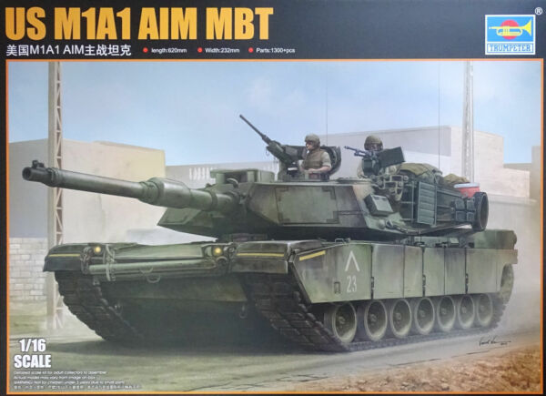 TRUMPETER® 00926 US M1A1 Abrams AIM MBT in 1:16