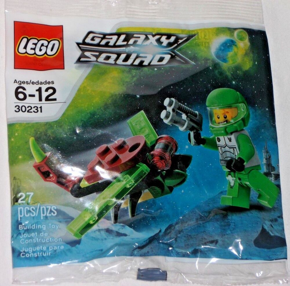 Lego 30231 Galaxy Squad Space Insectoid Polybag New