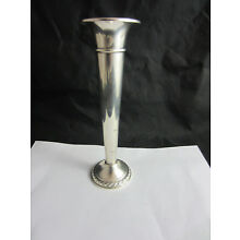 Rogers sterling silver weighted reinforced bud vase 7.75