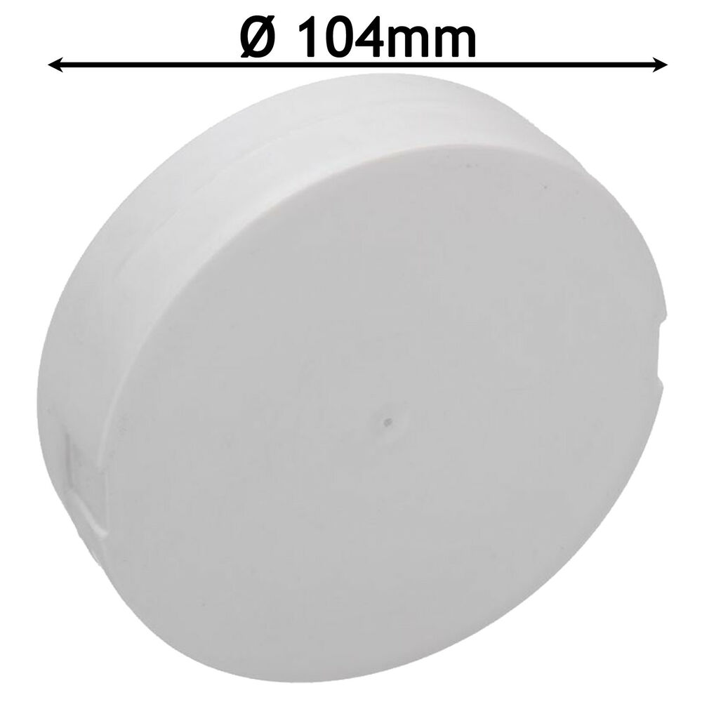Universal Tumble Dryer Side Vent Blanking Plate 104mm