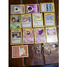 Estate Lot Antique Sterling Jewelry Pokemon Cards Magic The Gathering Mom Kids