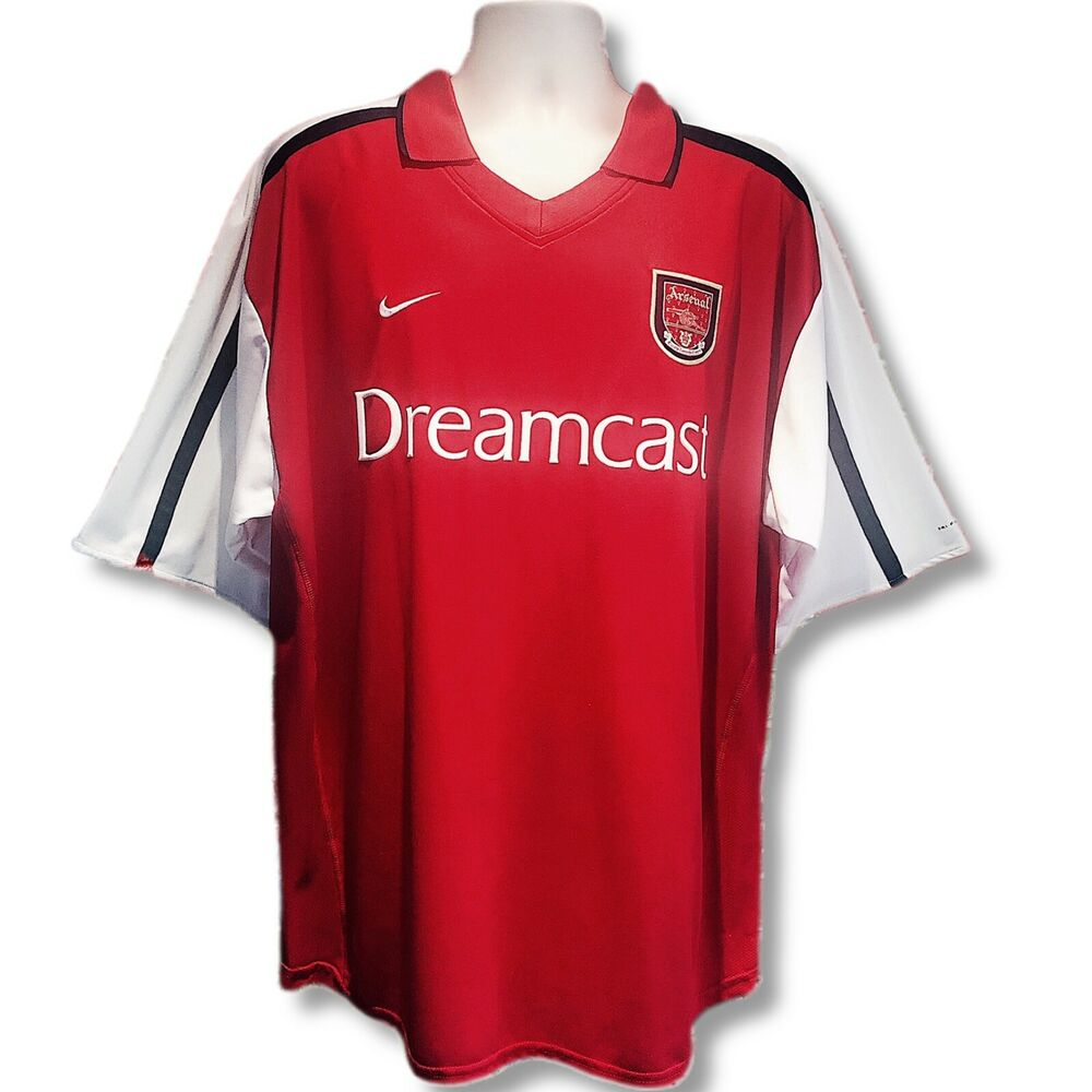 Arsenal 2000-2002 Authentic Nike Dreamcast Home Shirt (XXL)  67657ad6b