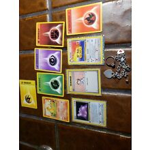 1st Edition Pokemon Cards Sterling Jewelry Gift Mom Kids Estate Lot