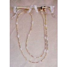 BLING READERS  READING GLASSES MADE WITH SWAROVSKI CRYSTALS ONLY NO CHAIN GOLD