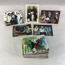 THE THREE STOOGES 75th ANNIVERSARY (Breygent/2005) Complete Card Set w/ 5 PROMOS