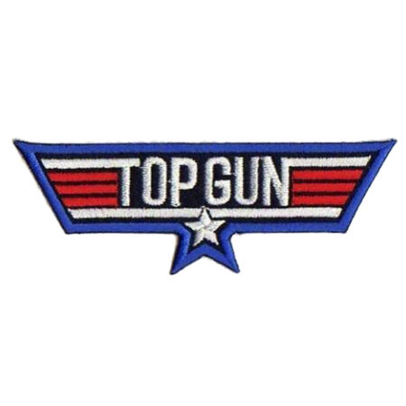 img-Patche écusson Top Gun film USAF aviation pilote thermocollant transfert patch