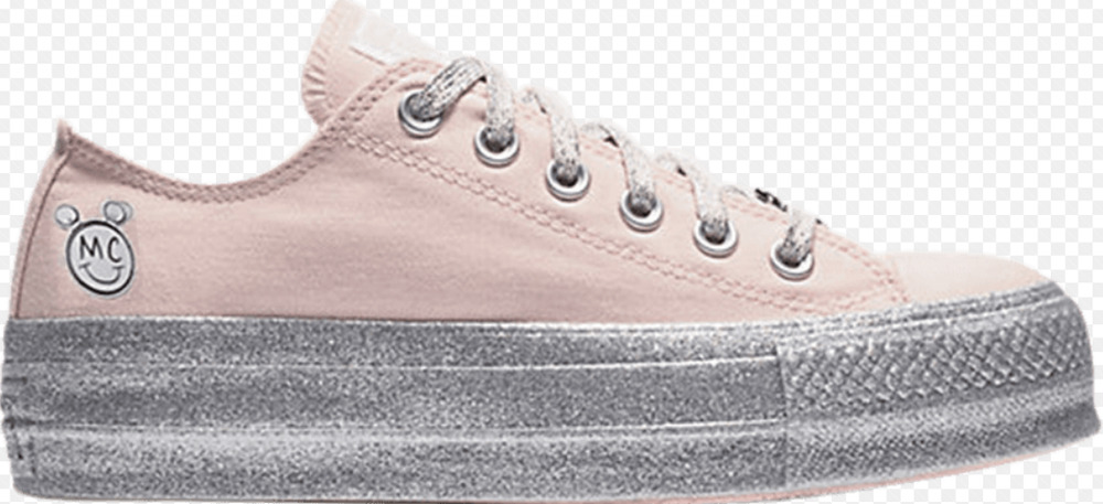 Details about Converse X Miley cyrus Chuck Taylor All Star Lift 562237C  Silver Platform Wed 08ddc7cc9