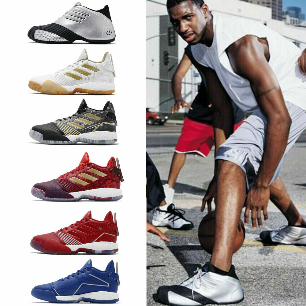 3a4d69cfd14a Details about adidas T-Mac 1   Millennium Tracy McGrady Legend Classic Basketball  Shoes Pick 1