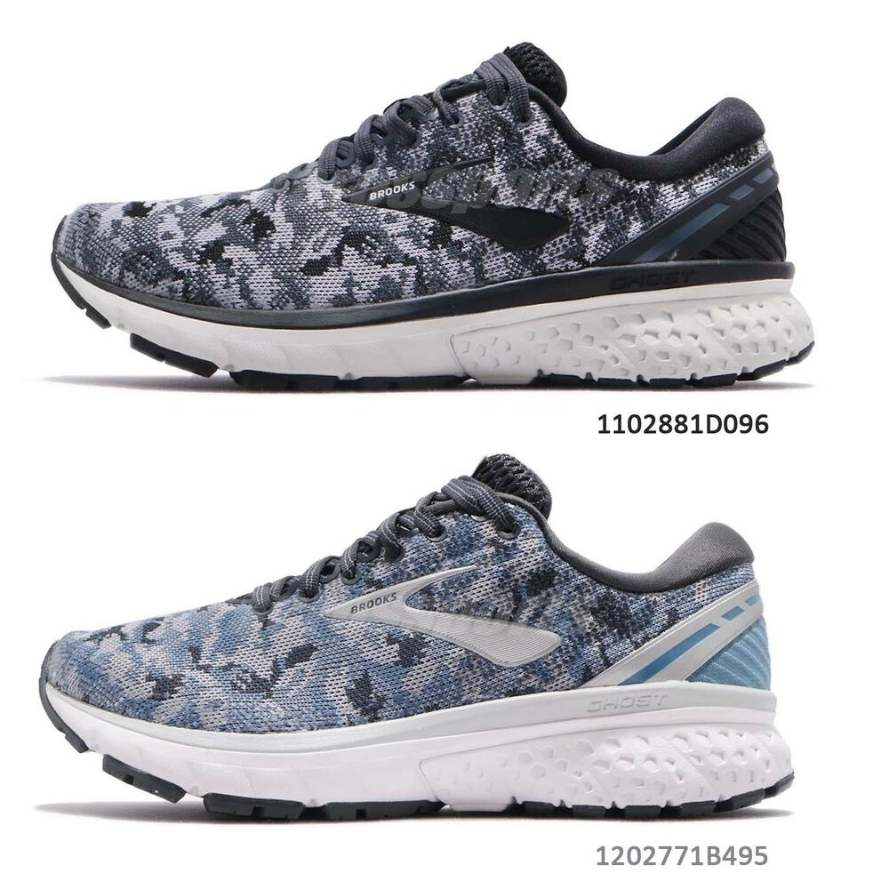 a33f9018df3 Details about Brooks Ghost 11 Grey Oyster Camo Men Women Running Shoes  Special Edition Pick 1