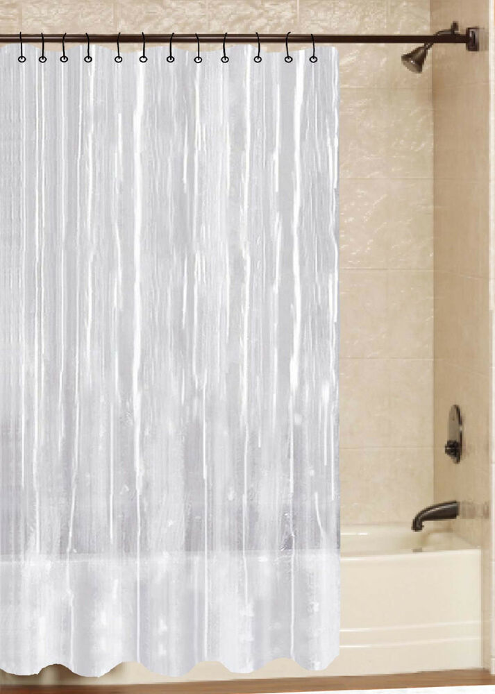 Details About All For You 100 SAFE PVC Liner Shower Curtain Rings Not Included 21 Colors