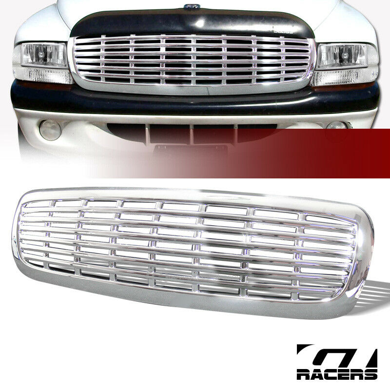 For 1997-2004 Dakota/Durango Chrome Horizontal Billet