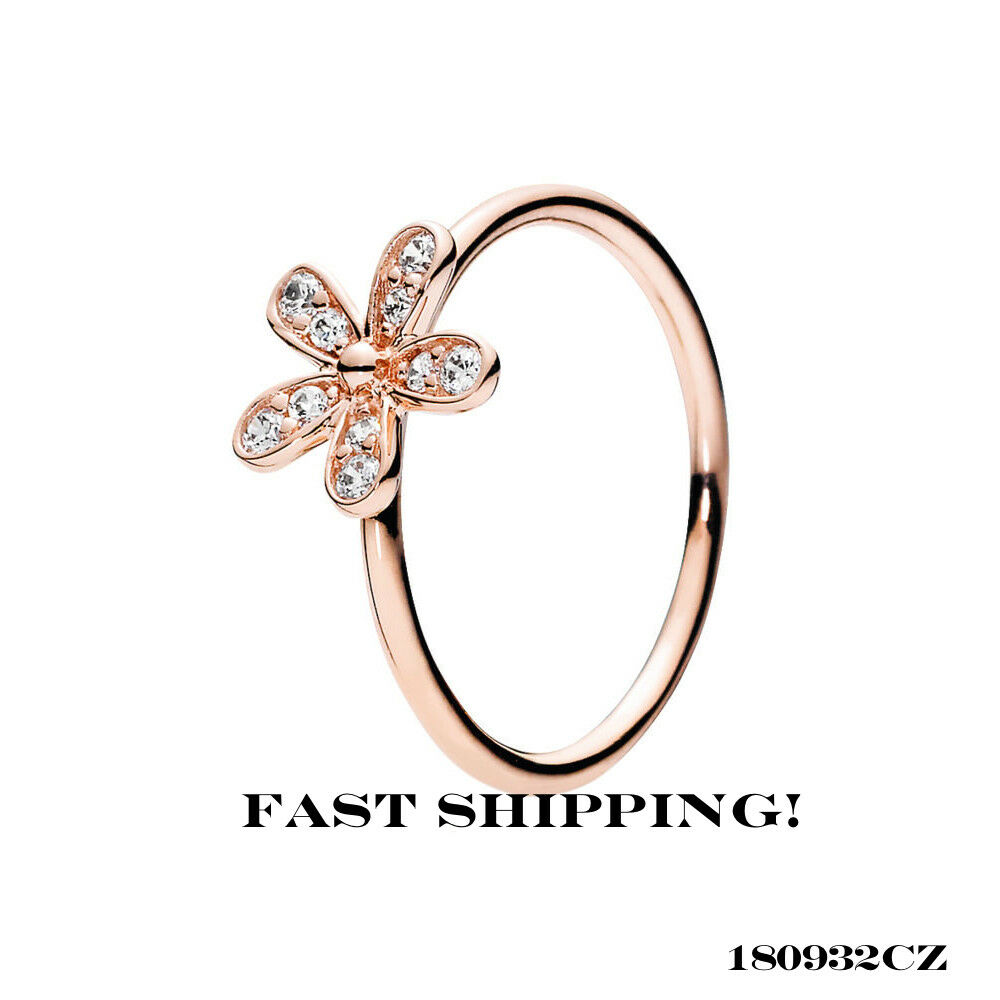 f48559e66 Details about Authentic Pandora Dazzling Daisy Ring, Clear CZ 180932CZ 56mm  (7.5)