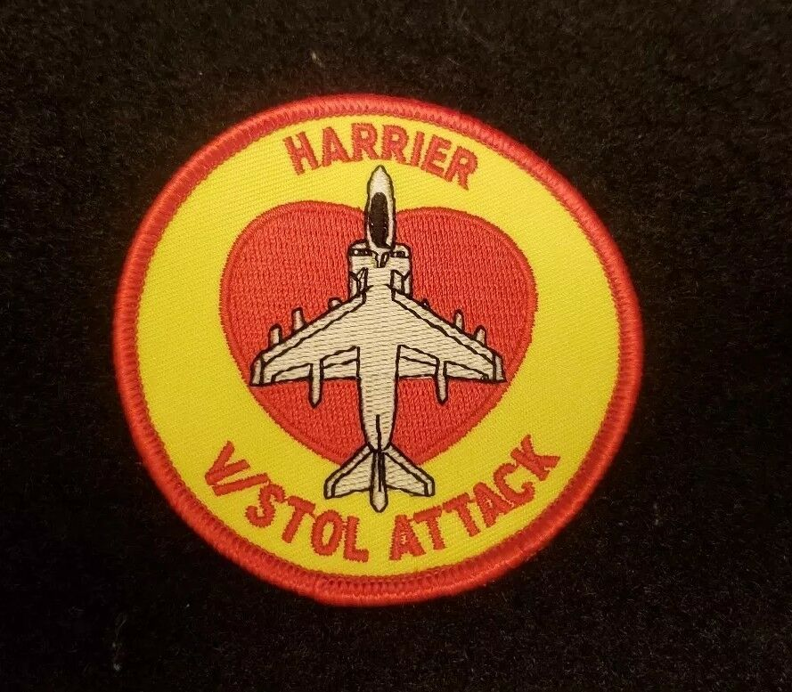 Details about Awesome USMC Military Harrier Squadron V STOL ATTACK patch NEW f7a981301