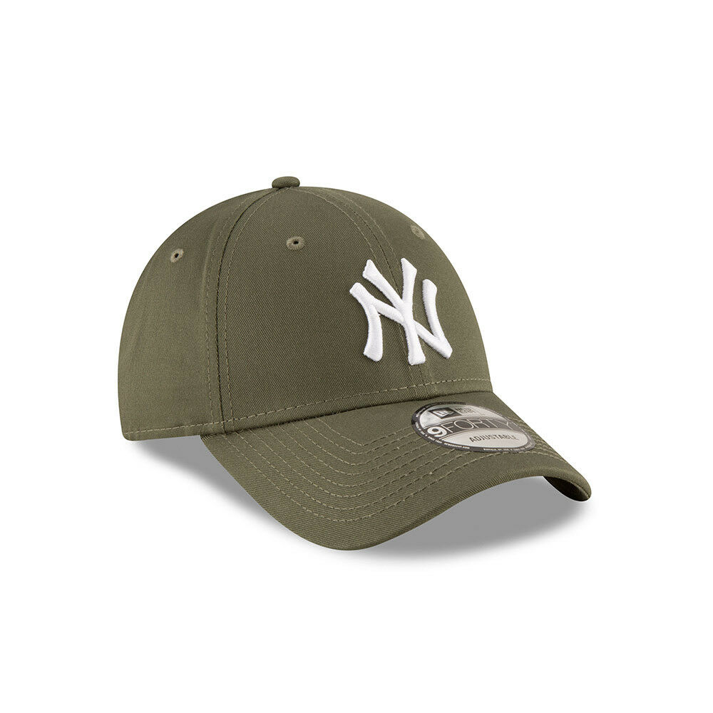1de5275011a57 Details about NEW ERA 9FORTY BASEBALL CAP.NEW YORK YANKEES MLB GREEN COTTON STRAPBACK  HAT 9S1