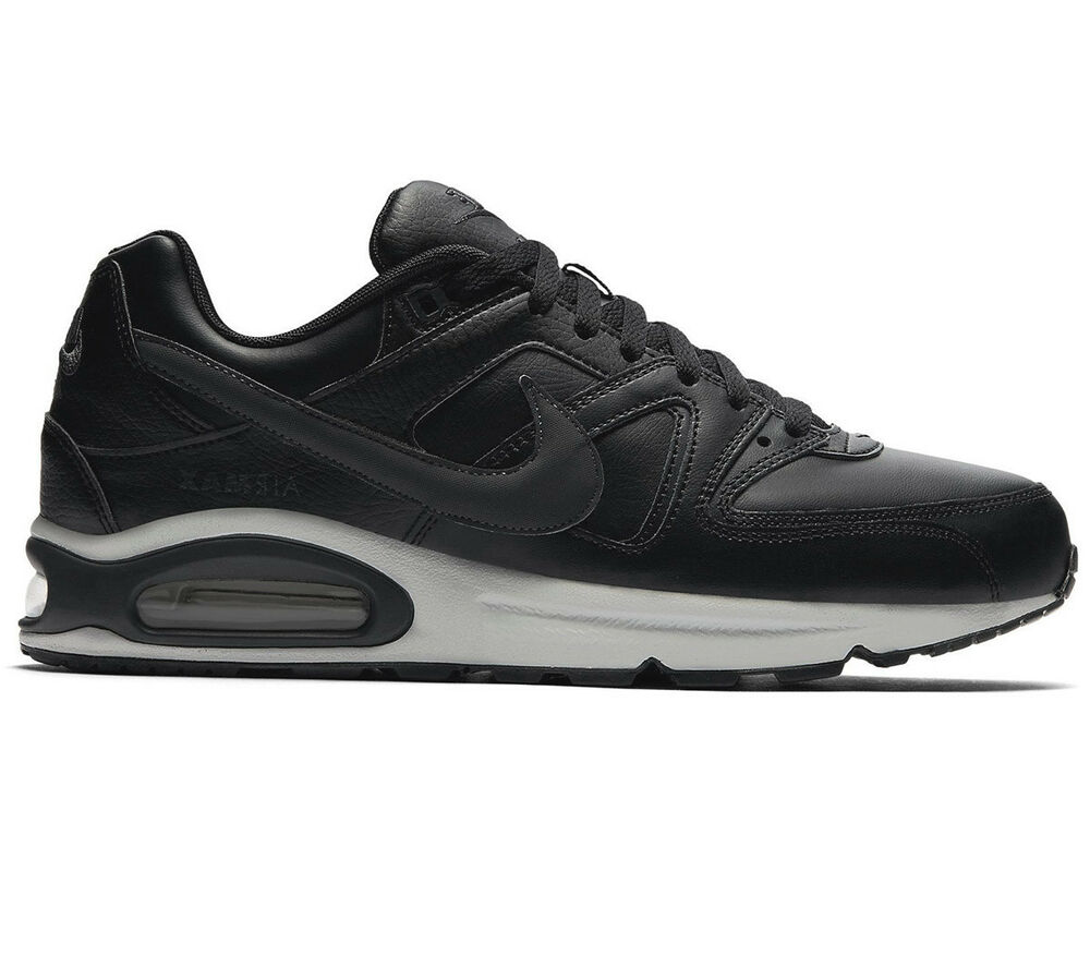 92606e3d2ea8 Nike Air Max Command Leather Men s Sneakers Shoes Leather Black 749760-001  New