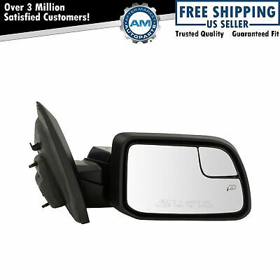 Mirror Power Heated Puddle Spotter Passenger Side Right RH for 11-14 Ford Edge