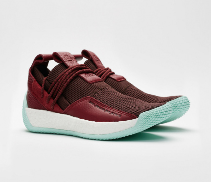 reputable site 90fa4 c7c39 Details about New adidas Harden LS 2 Lace II Boost James Red White Men  Lifestyle Shoes CG6277