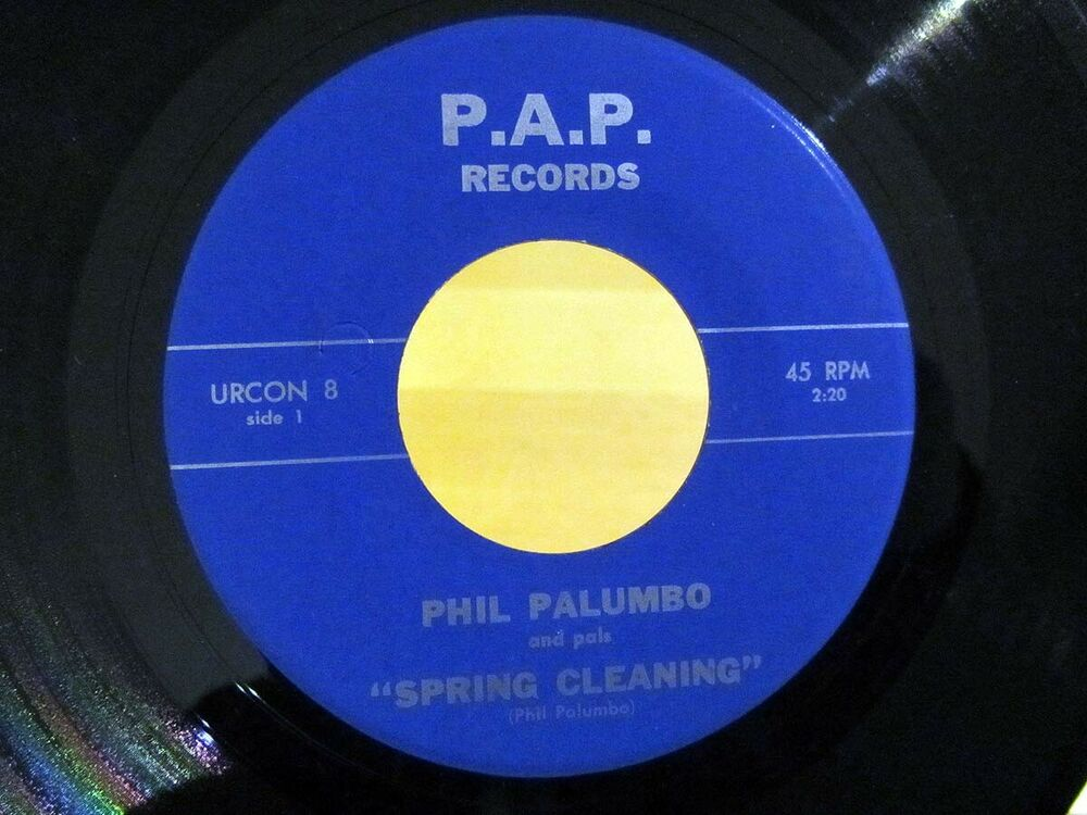 Mod Soul 45 PHIL PALUMA Spring Cleaning/Alabama Jubilee