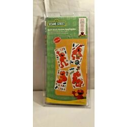 Sesame Street Self-Stick Room Appliques Grover Letters and Numbers New