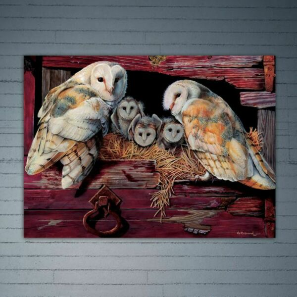 Owls DIY 5D Full Diamond Painting Embroidery Rhinestone Cross Stitch Craft Kits