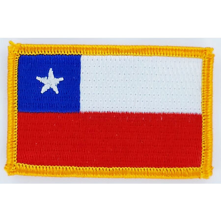img-PATCH ECUSSON BRODE DRAPEAU CHILI INSIGNE THERMOCOLLANT NEUF FLAG PATCHE