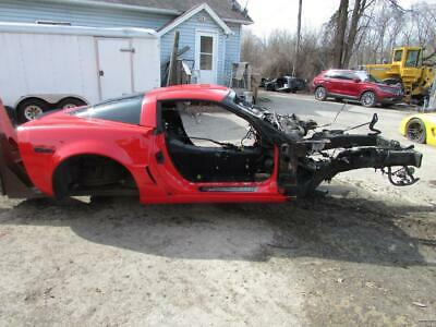 06-13 C6 Corvette Z06 - Complete Frame Assembly w/ Rear Body & Roof - 2013 Z06