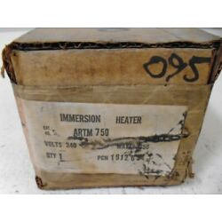 CHROMALOX ARTM 750 IMMERSION HEATER * FACTORY SEALED *