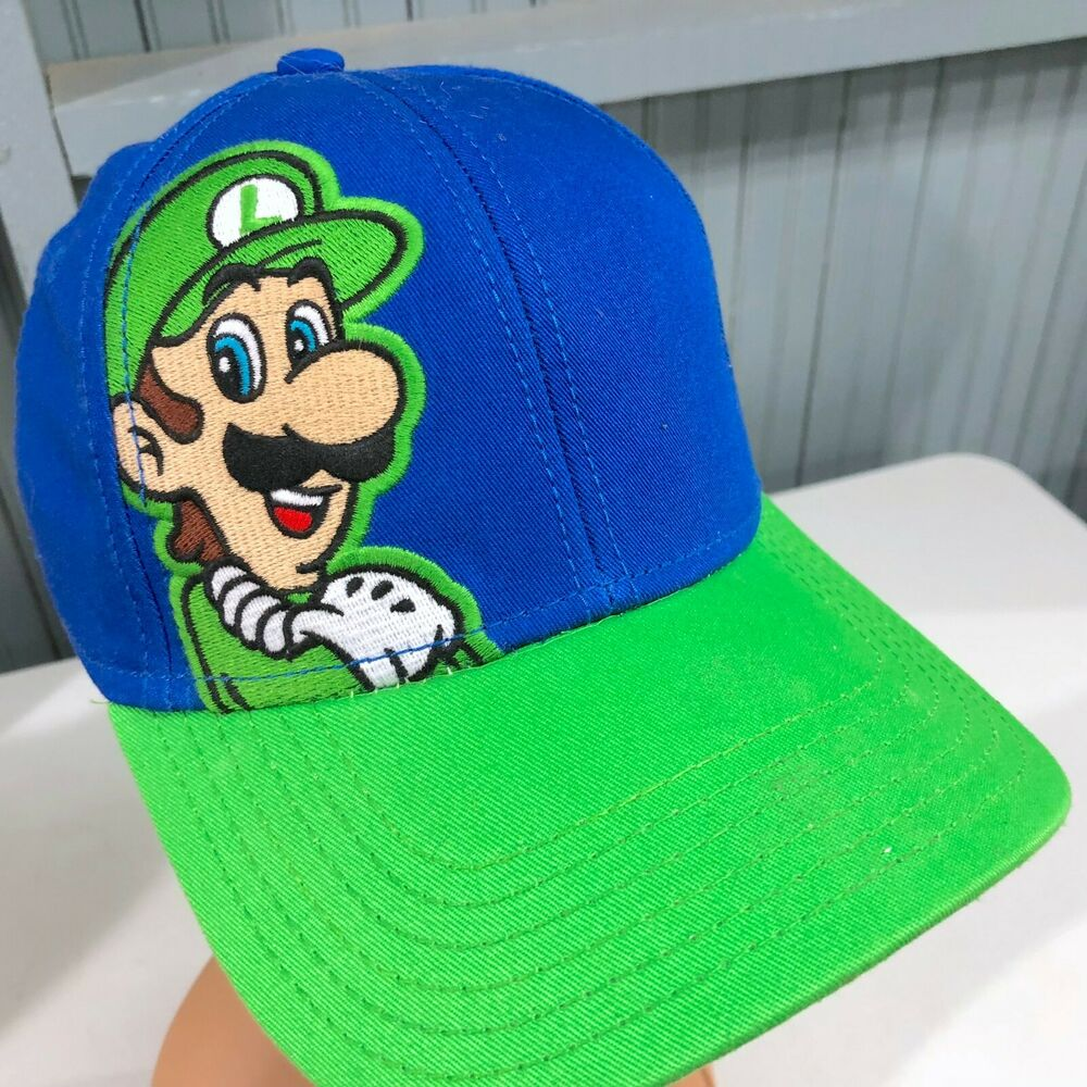 8f6338780abaf Details about Super Mario Brothers Video Game YOUTH Snapback Cap Hat