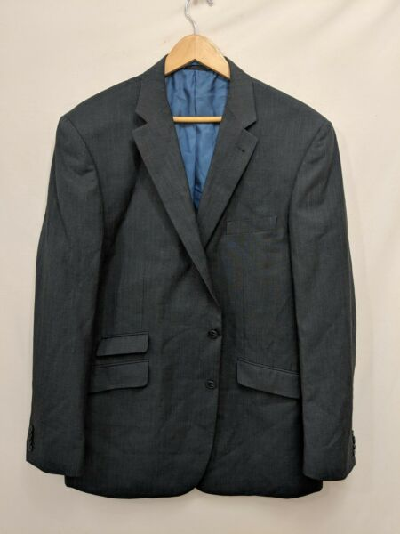 Taylor & Wright Suit Big Body Fine Tailoring: UK Size 46L #94I2