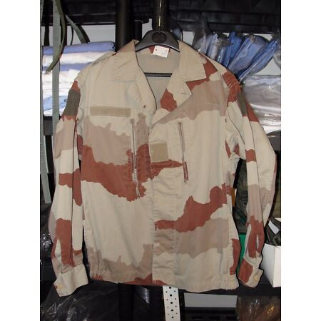 img-Jacket F2 French Army Size 96M ( M. ) Camouflage Daguet Desert Camo Sable (Sand)