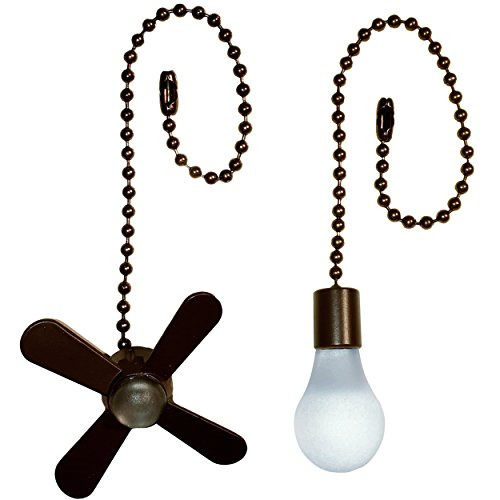 Ceiling Fan Metal Pull Chain Set Lighting Parts Lamps Fans