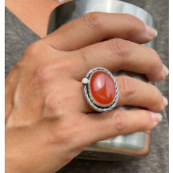 Kyпить Sterling Silver - Wrapped Carnelian Ring на еВаy.соm