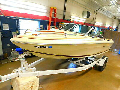 19' Sea Ray V-190 Mercruiser I/O w/ Miscellaneous Trailer   T1280967