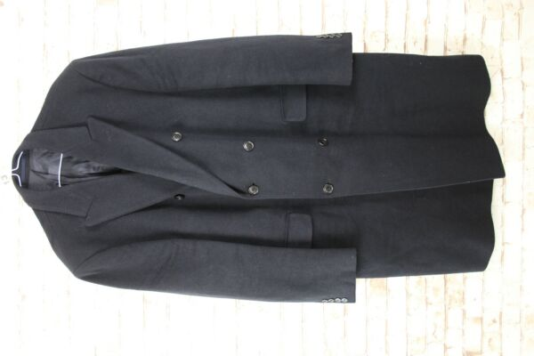 Dehavilland Wool & Cashmere Navy Coat size 42R