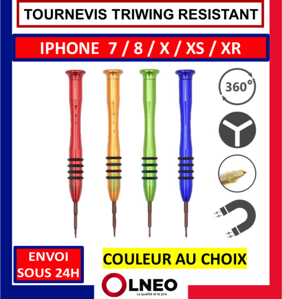 TOURNEVIS TRIWING Y 0.6 OUTILS REPARATION IPHONE 7 / 8 / X / PLUS / APPLE WATCH