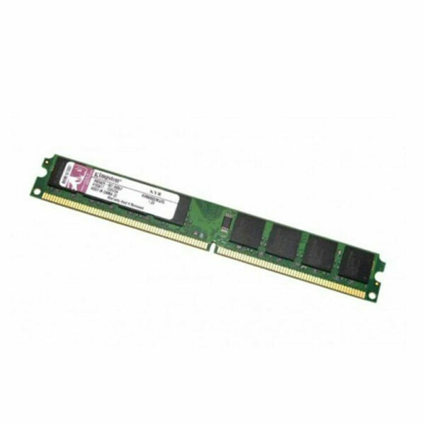 Memoria Ram per pc computer desktop DIMM Kingston KVR800D2N5/2G Low profile