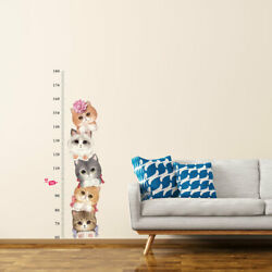 Cat Pattern Wall Stickers Removable Art Decals for Living Room Bedroom