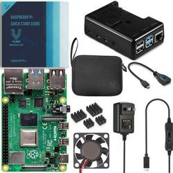Kyпить Vilros Raspberry Pi 4 Basic Kit with Black Fan Cooled Case на еВаy.соm