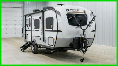 New 2019 Forest River Rockwood Geo Pro 19QB Queen Bed RV Camper Travel Trailer