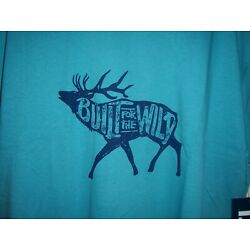 Yeti Coolers Shirt, Men's Yeti Built for the Wild Elk Tee, SS, New with Tags